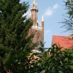 Blick auf den Bibelturm